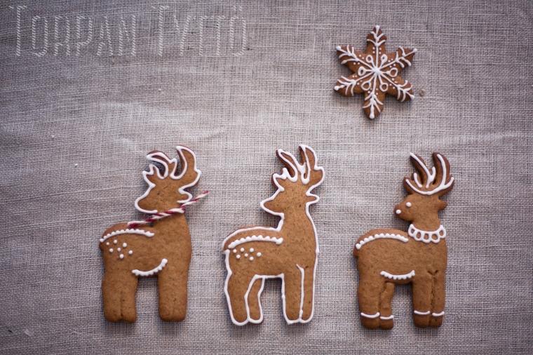 Gingerbread animals